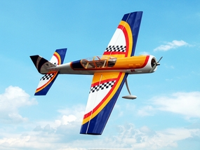 "Yak 52 3D 50 - 56"" Version 2 Nitro Gas Radio Remote Controlled Aircraft Almost-Ready-to-Fly ARF"