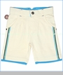 4 Funky Flavours, Bright Lights French Terry Shorts in Cream (c)