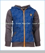 4 Funky Flavours, Ever Present Hooded Sweater in Blue