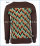 4 Funky Flavours, Every Breaking Wave Sweater in Brown