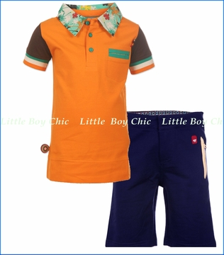 4 Funky Flavours, Get Some Air In Polo with Pieces of a Man Shorts