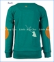 4 Funky Flavours, Paper Aeroplane Tee in Teal