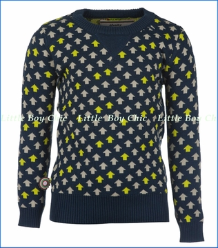 4 Funky Flavours, Up Sweater in Navy