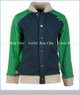 4 Funky Flavours, Working Man Jacquard Light Jacket in Blue