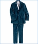 Appaman, 2-Piece Mod Suit in Teal Velvet