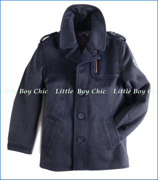 Appaman, Bowery Coat in Navy Blue (c)