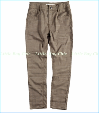 Appaman, Bushwick Pant in Brown Plaid