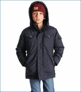 Appaman, Commuter Down Coat in Navy Blue