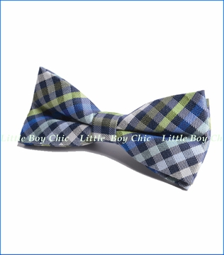 Appaman, Green Check Bow Tie