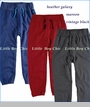 Appaman, Gym Sweat Pants in Heather Galaxy, Maroon or Vintage Black (c)
