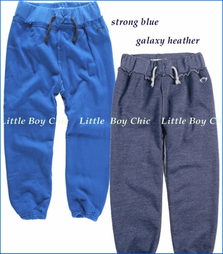 Appaman, Gym Sweats in Galaxy Heather or Strong Blue