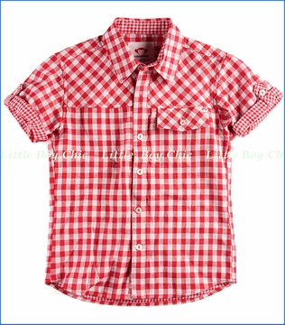 Appaman, Harvey Shirt in Red Check