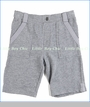 Appaman, Stanton Pull On Shorts in Heather Grey (c)