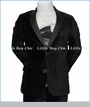 Appaman, Velvet Blazer in Black
