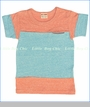 Bit'z Kids, Color Block Tee in Orange (c)