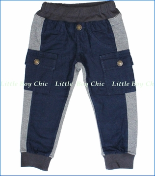 Bit'z Kids, Navy Blue Cargo Pants