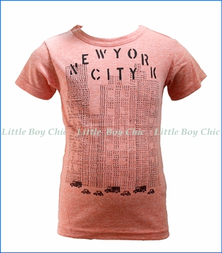 Bit'z Kids, NYC Stamped T-Shirt in Red