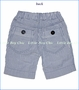 Bit'z Kids, Seersucker Shorts in Navy Blue (c)