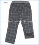 Bit'z Kids, Window Pane Fleece Lined Pants in Charcoal
