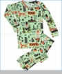 Books To Bed, Mr Tiger Goes Wild Pajama in Green