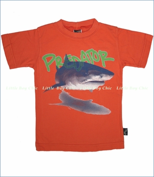 Charlie Rocket, Predator Tee in Orange (c)