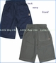 Charlie Rocket, Pull On Twill Shorts in Navy or Lizard (c)