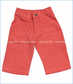 Charlie Rocket, Red Utility Shorts (c)