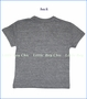 Chaser, Peace Fingers T-Shirt in Grey