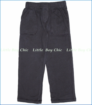 City Threads, Jersey Pocket Pants in Charcoal (c)