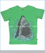 City Threads, Shark Attack Tee in Elf Green (c)