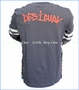 Desigual, Fermin 2fer T-shirt in Carbon  in Grey