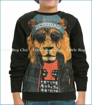 Desigual, Henry Lion Fleece Sweatshirt