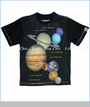 Dogwood, Planets Tee in Black (c)