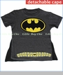 Dx-xtreme, Batman Shield Tee with Detachable Cape (c)