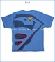 Dx-Xtreme, Superman Shield Tee in Royal Blue (c)