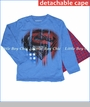 Dx-Xtreme, Superman Stars and Stripes Cape Tee in Blue (c)