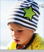 Dyno, Star Organic Hat in Anthracite/White (c)
