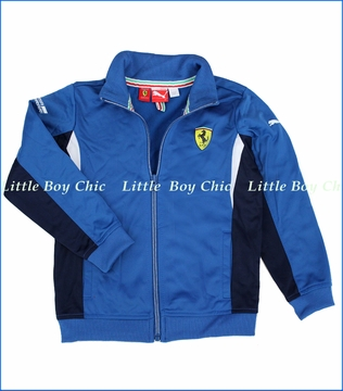 Ferrari by Puma, Track Jacket in Classic Blue (c)
