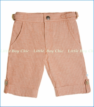 Fore!!, Brick Linen Stripe Short (c)