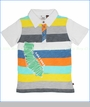 Fore!!, Cali Cool Multi Stripe Polo (c)