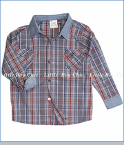 Fore!!, Check with Chambray Buttoned Shirt (c)