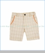 Fore!! , Diamonds Print Shorts in Beige