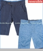 Fore!!, Reversible Board Shorts in Blue (c)