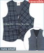 Fore!!, Reversible Houndstooth and Plaid Vest
