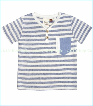 Fore!!, Stripe Pocket Henley Tee (c)