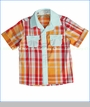 Hang Ten Gold, Buttoned Plaid For Sure Shirt (c)