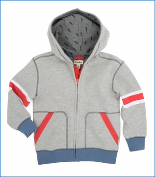 Hatley, Athletic Grey Hoodie in Grey