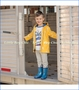 Hatley, Lightening Bolt Splash Jacket in Yellow