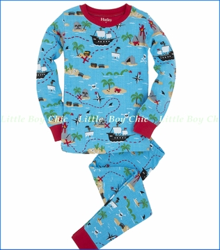Hatley, Treasure Island PJ Set (c)