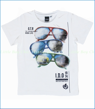 iDo, High Life Tee in White (c)